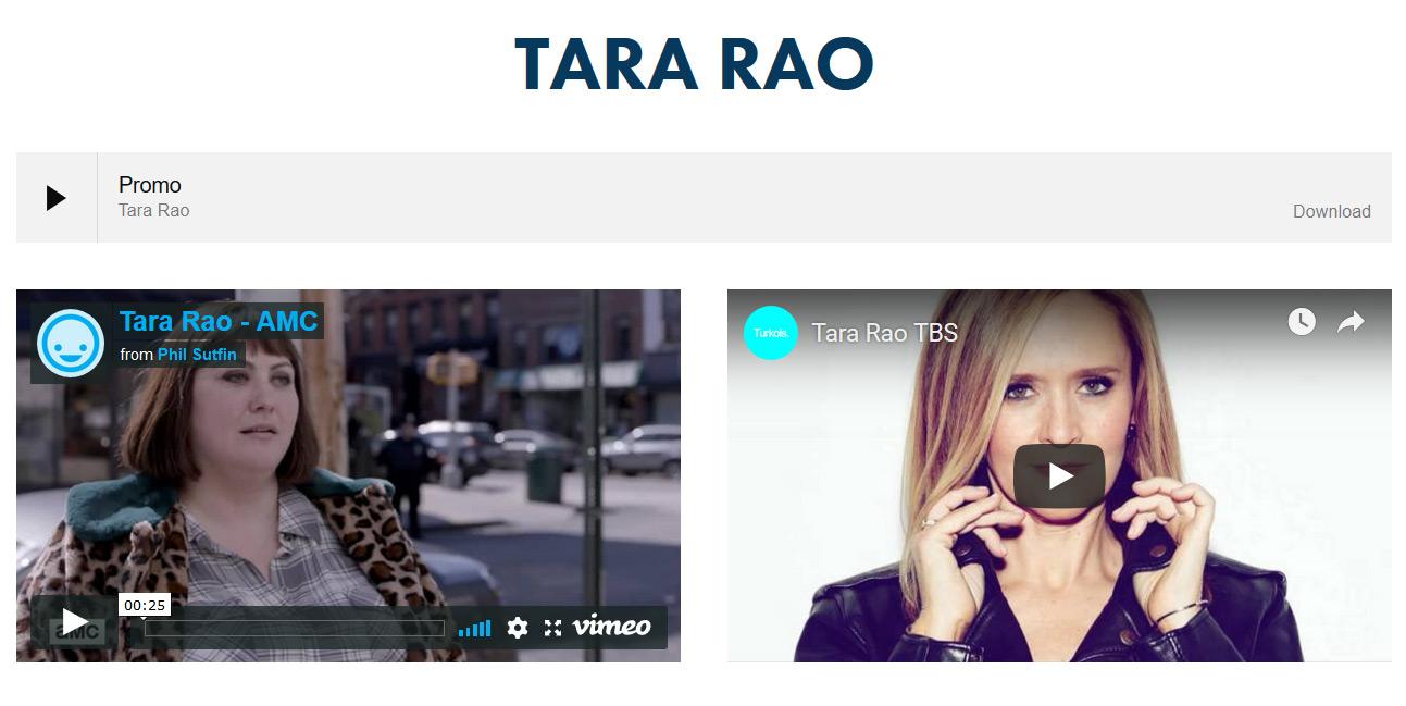 Tara Rao Voiceover Click here